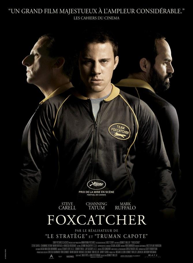 Foxcatcher, l'affiche