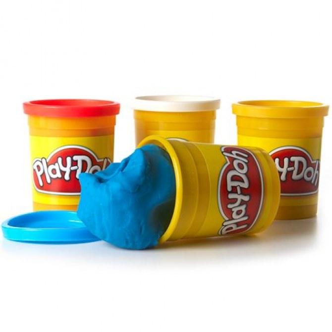 La pâte à modeler Play-Doh ?