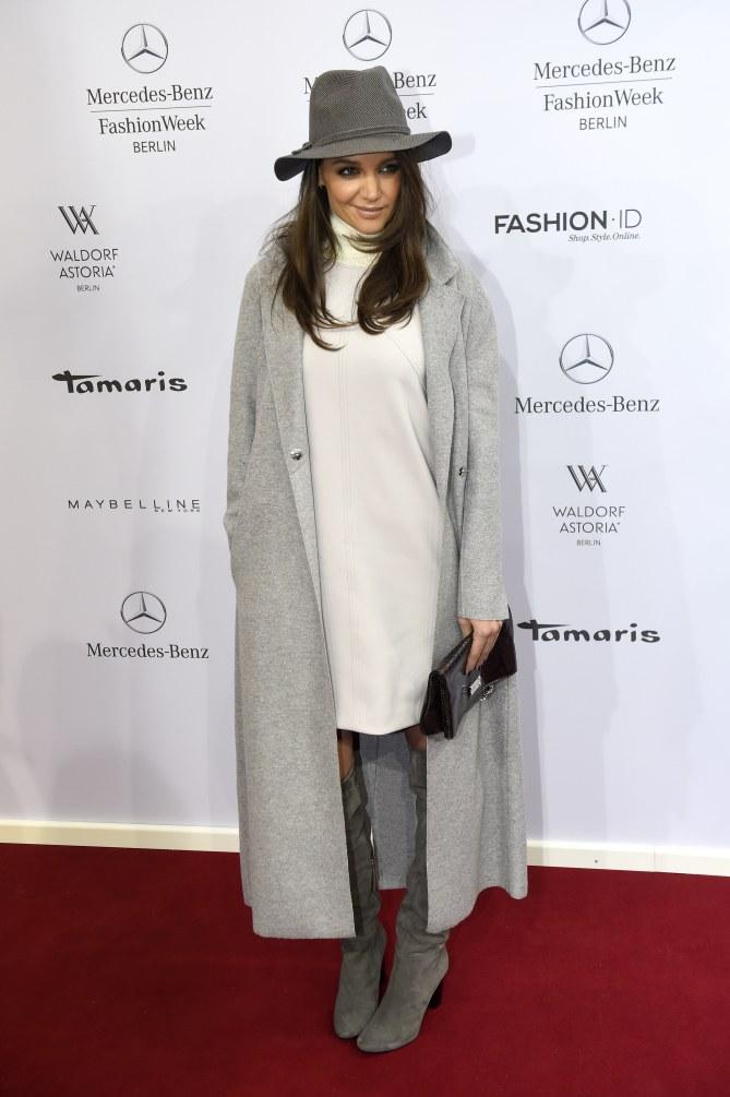 Katie Holmes à Berlin, le 20 janvier 2015