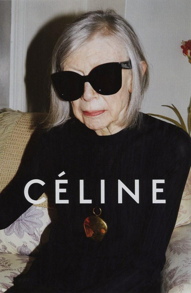Joan Didion, égérie Céline