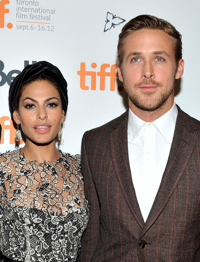Eva Mendes et Ryan Gosling.
