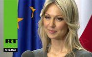Magdalena Ogorek, la candidata polaca más guapa del mundo