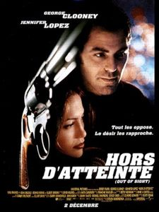Jennifer Lopez et George Clooney dans Hors d'atteinte