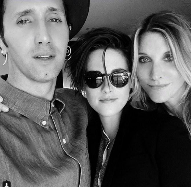 Kristen Stewart et ses amis sur Instagram