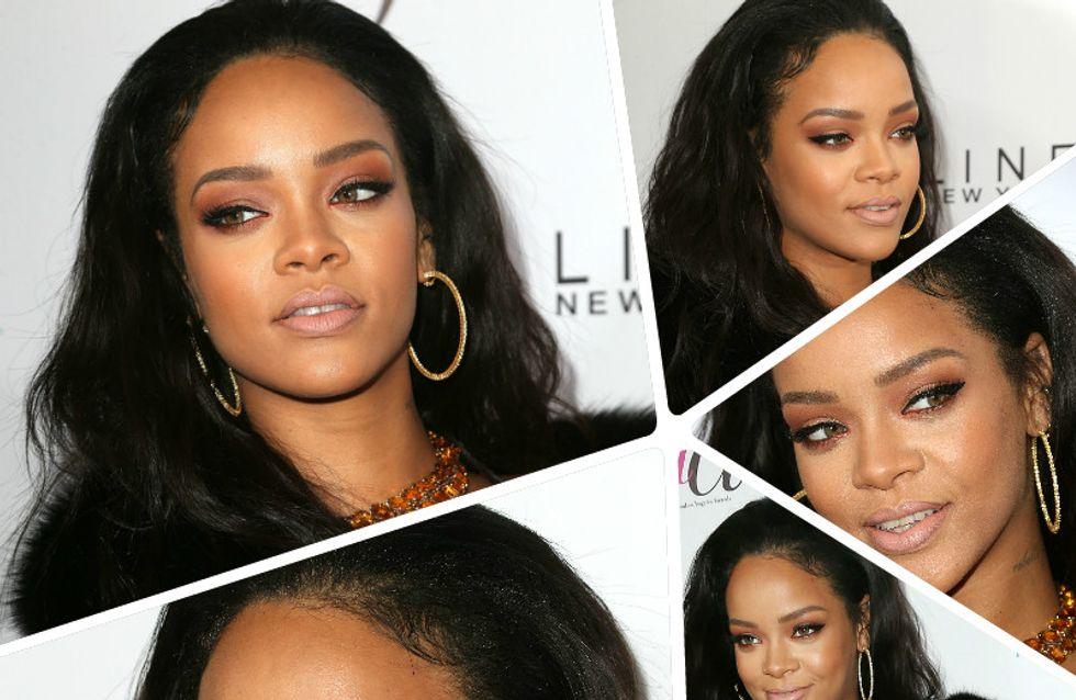 Les mini-cheveux de Rihanna ne sont pas très jolis