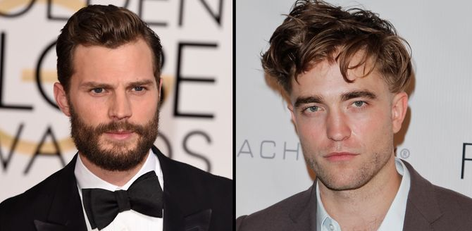 Jamie Dornan - Robert Pattinson