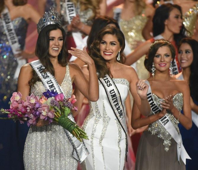 Paulina Vega, Miss Univers 2015