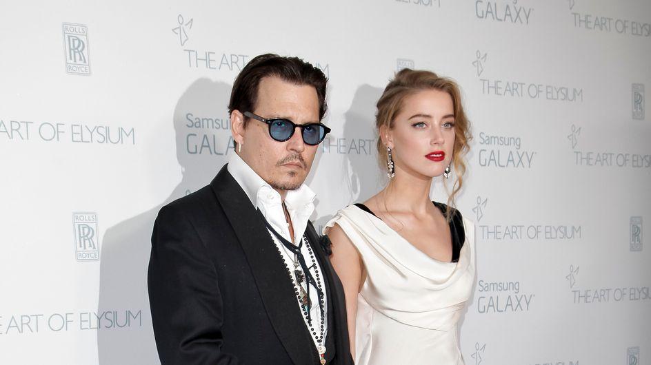 Johnny Depp et Amber Heard mariés en secret ? Une bague sème le doute…