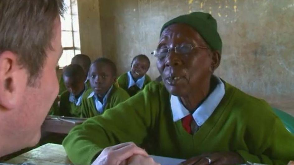 A 90 ans, cette arrière-grand-mère s'est inscrite à l'école primaire pour enfin apprendre à lire