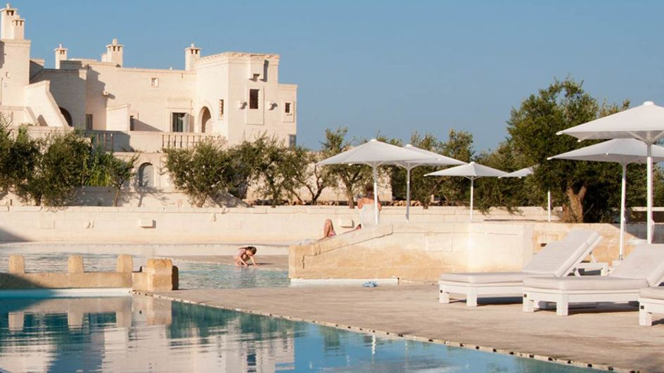 Borgo Egnazia, relax entre olivos