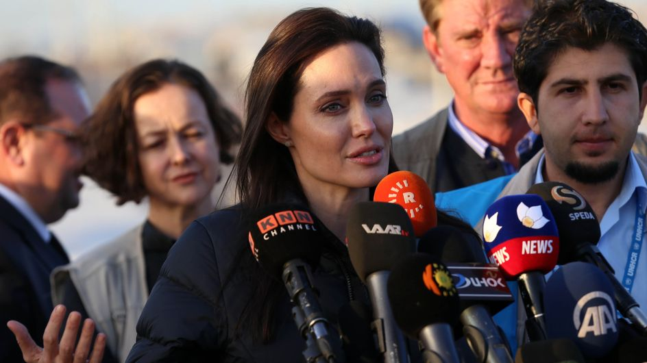 Angelina Jolie, ambassadrice engagée en visite en Irak