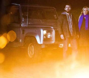 Emmerdale 02/02 - Andy and Katie's caravan is set alight