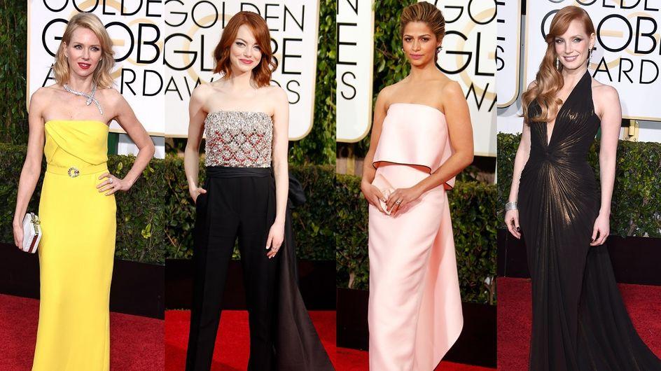 Les 10 plus beaux looks des Golden Globes