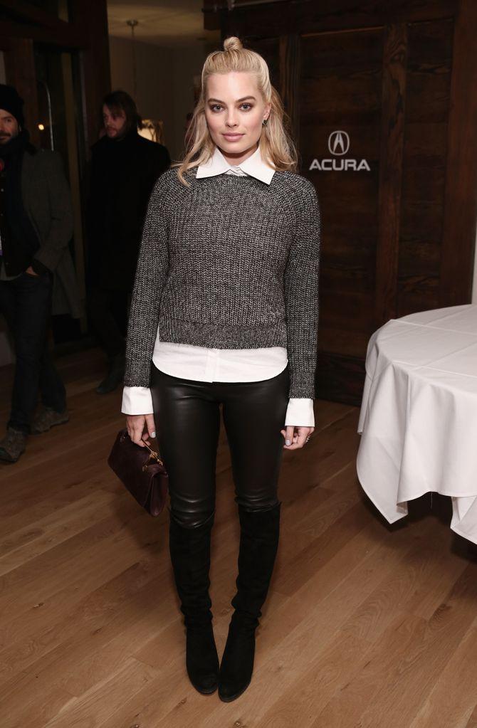 Margot Robbie, en janvier 2015