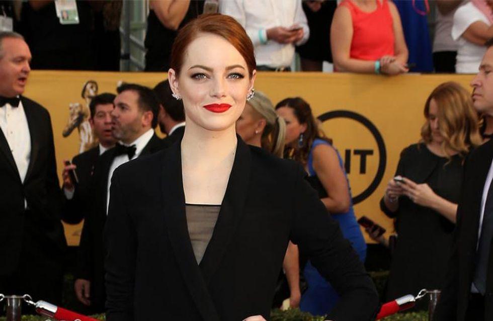 Emma Stone findet Paparazzi unangenehm