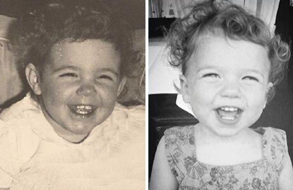 Ces photos de famille nous prouvent que le physique est vraiment héréditaire