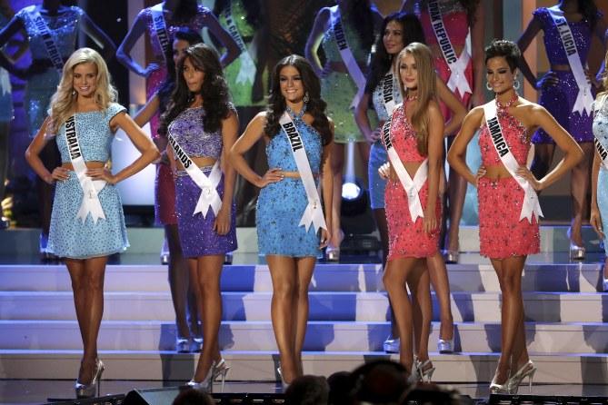 Le concours Miss Univers.