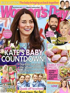 Kate Middleton en couverture de Woman's Day