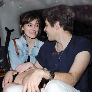 Keira Knightley et James Righton, 2012