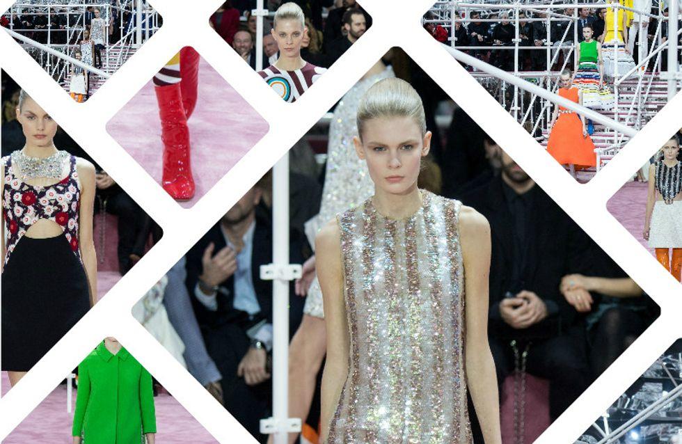 Christian Dior : le défilé Haute Couture Printemps-Eté 2015 en vidéo