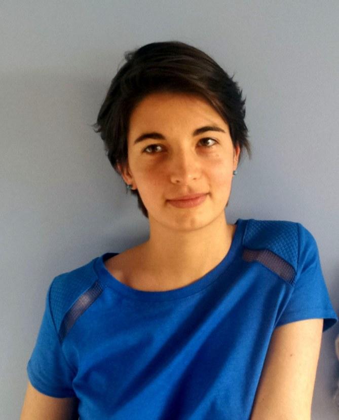 Chloé Francisci, lauréate du prix Jeunes Talents aufeminin du Festival de la BD d'Angoulême