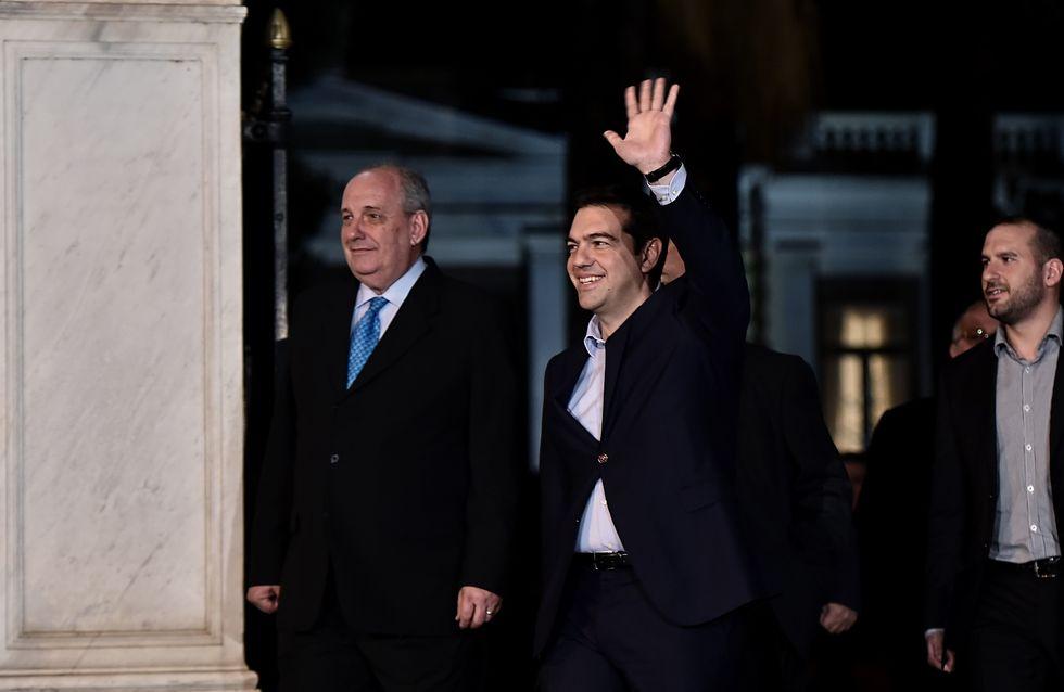 Tsipras anuncia su listado de ministros entre los que no hay ninguna mujer
