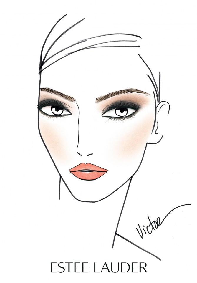 Comment réaliser le maquillage de Kendall Jenner avec Estée Lauder