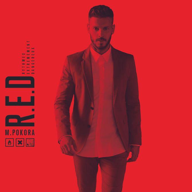 R.E.D, le nouvel album de Matt Pokora