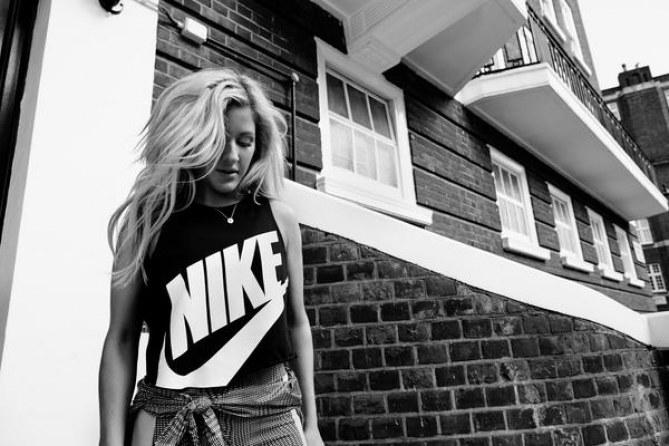 Ellie Goulding, ambassadrice Nike