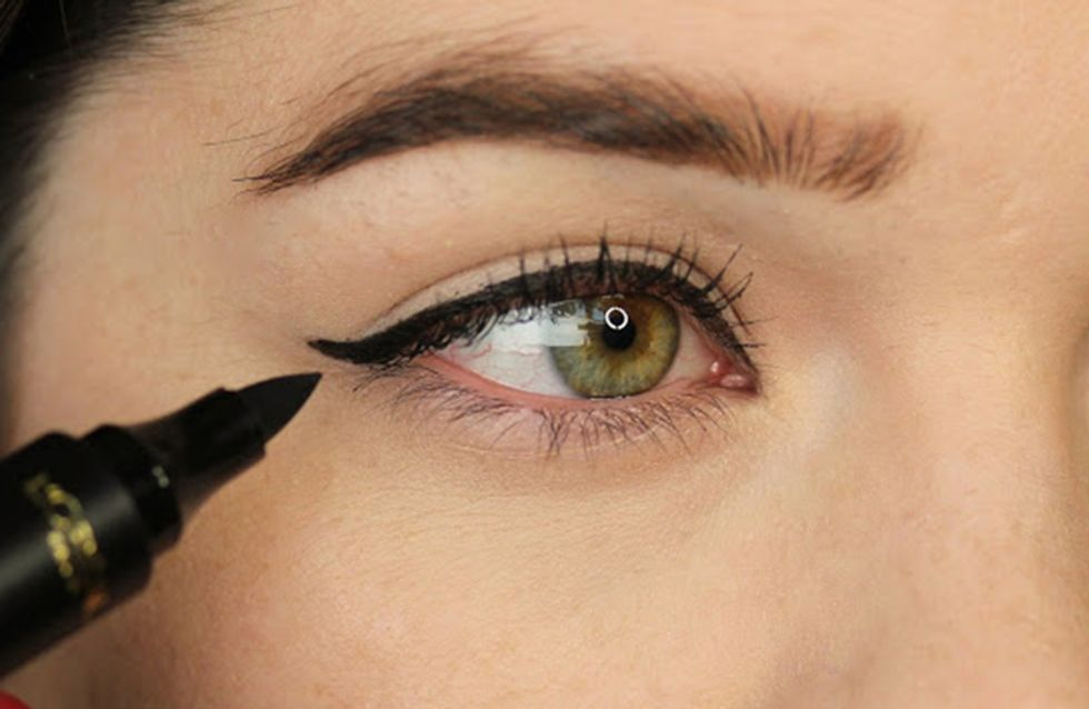 How To Do The Perfect Cat Eye Make-up In Five Minutes Flat