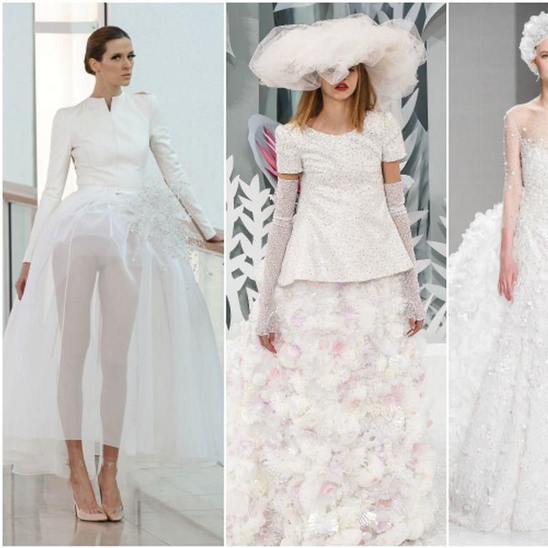 Abiti da sposa per la primavera  ecco le idee da rubare dalle sfilate di  alta moda! 0e25ab6e21d