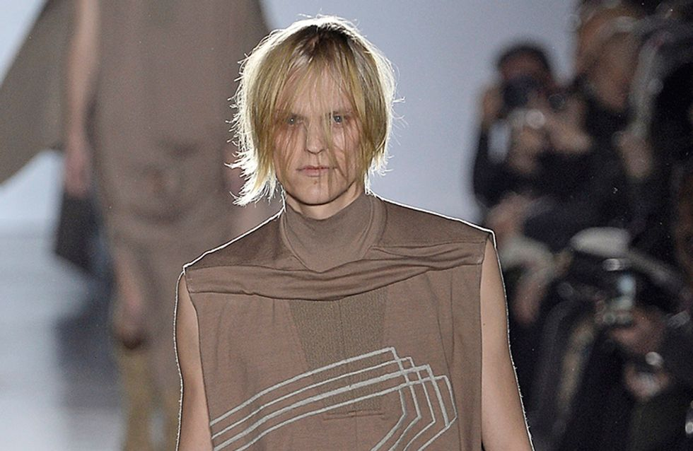 10 Thoughts We Had About The Naked Penises At The Rick Owens Runway Show