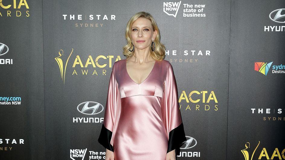 Cate Blanchett sans culotte sur le red carpet