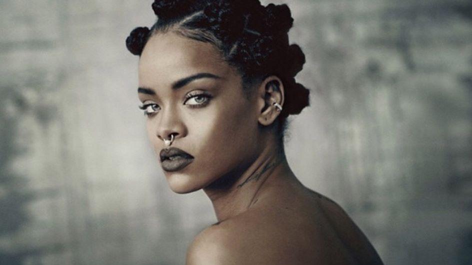 Rihanna, topless pour i-D Magazine (Photos)