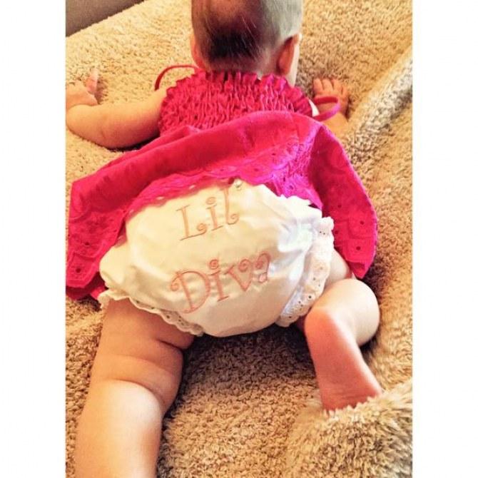La première photo de la fille de Christina Aguilera
