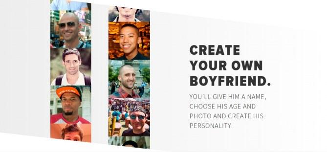 Create your own boyfriend !