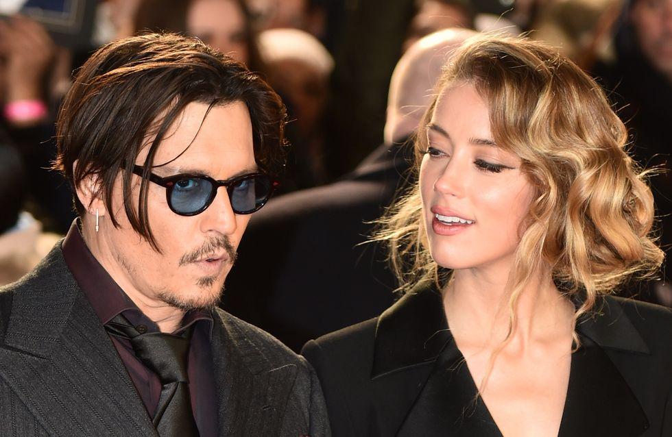 Le mariage de Johnny Depp et Amber Heard annoncé pour la semaine prochaine