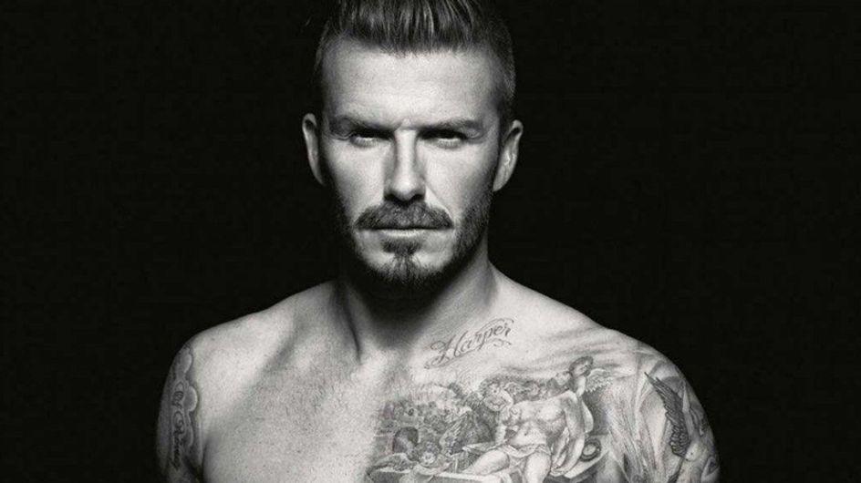 David Beckham designt Unterwäsche für H&M