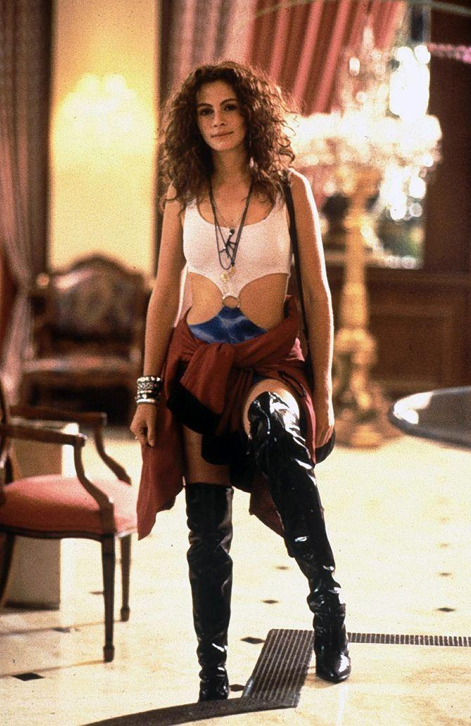 Julia Roberts nel film Pretty Woman
