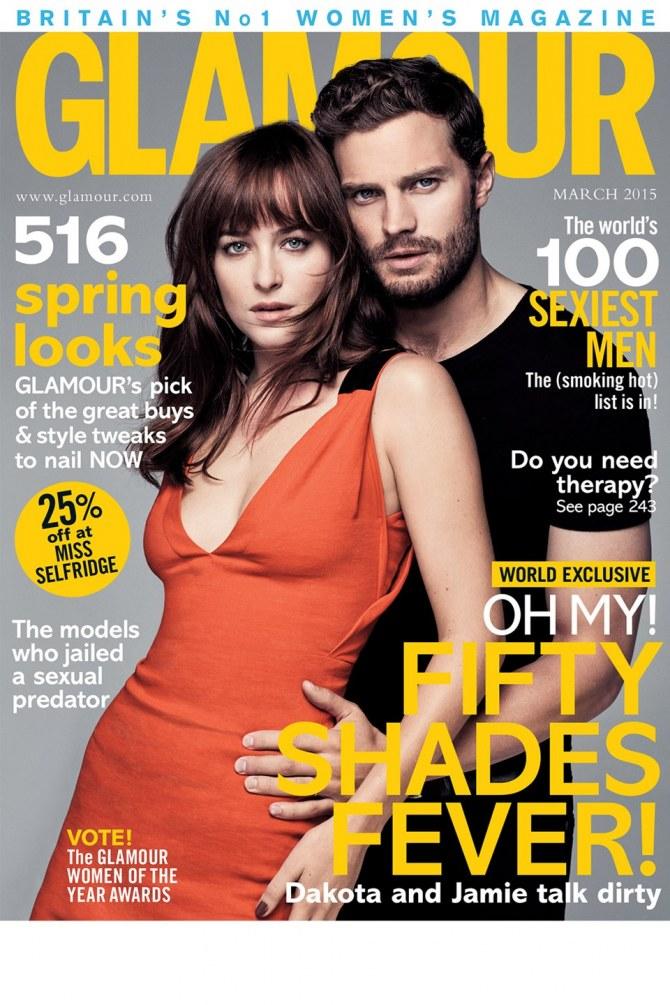 Dakota Johnson et Jamie Dornan pour Glamour