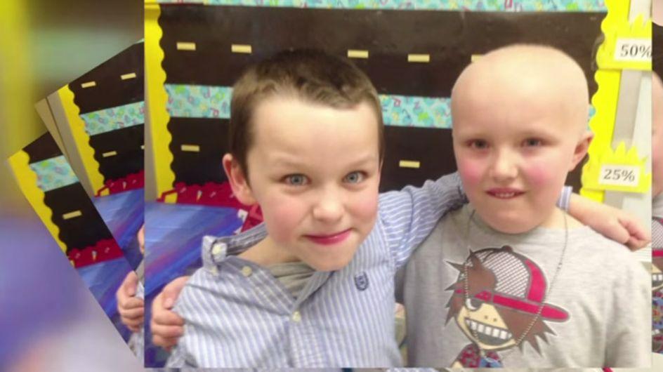 Sein bester Freund hat Krebs - was dieser Erstklässler für ihn tut, ist wirklich überwältigend