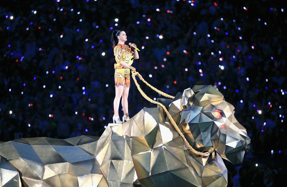 Vídeo: así fue la espectacular actuación de Katy Perry en la Super Bowl