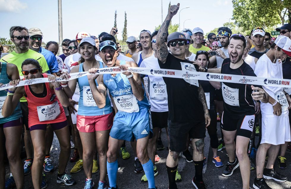 Corre por los que no pueden: Wings for Life World Run