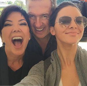 Kris Jenner, Mario Testino & Kendall Jenner