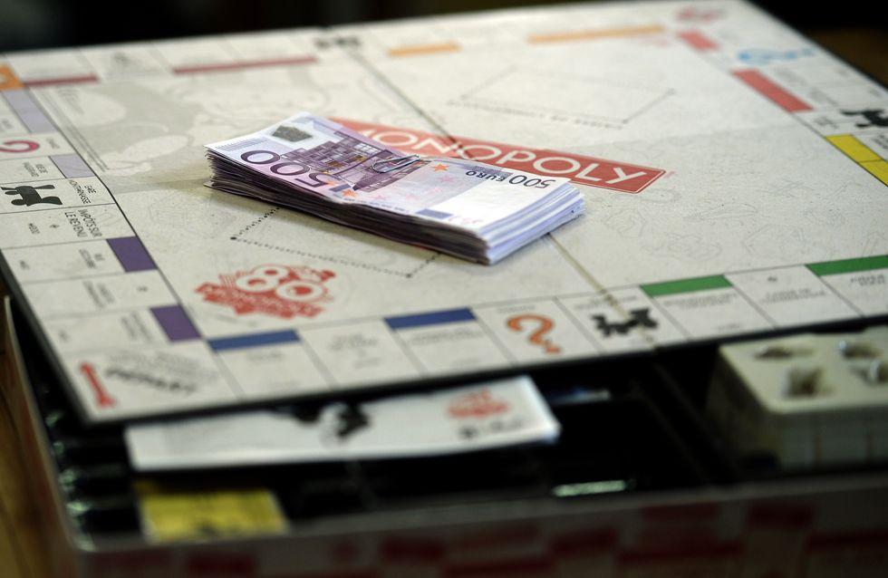 De vrais billets dans les boîtes de Monopoly !
