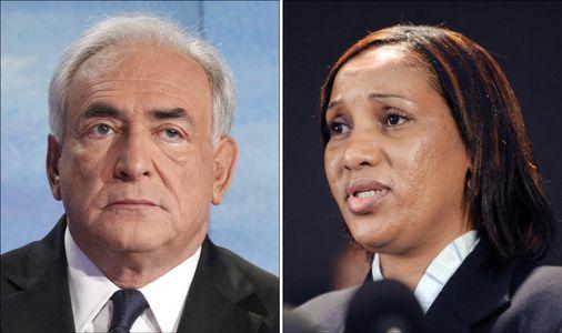 Nafissatou Diallo et Dominique Strauss-Kahn
