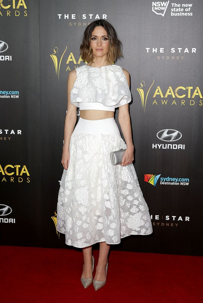 Rose Byrne aux Australian Academy of Cinema and Television Arts Awards.