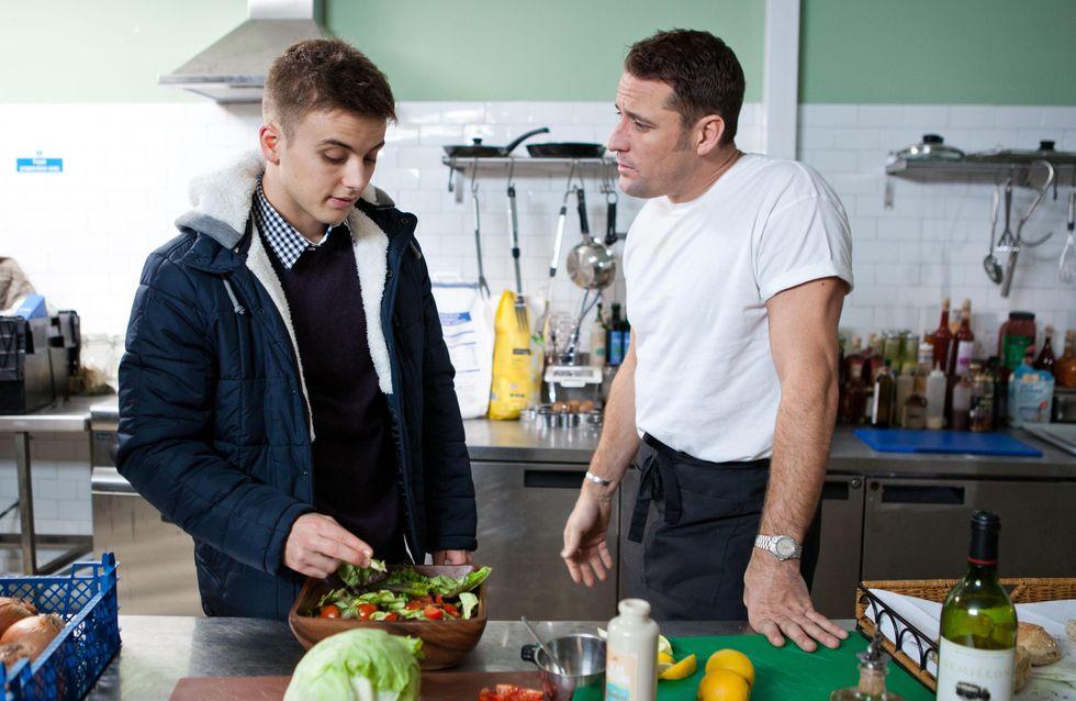 Hollyoaks 10/02 - Peri plots to get rid of Ziggy