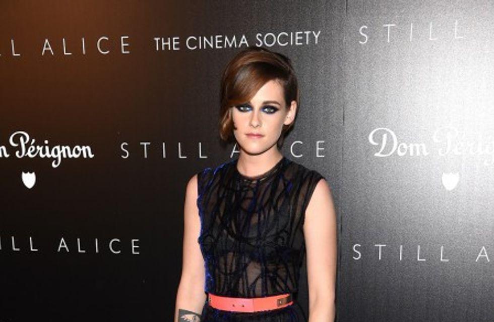 Trois looks de Kristen Stewart