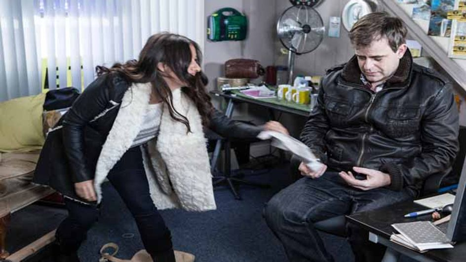 Coronation Street 11/02 - Steve struggles to adjust to normality